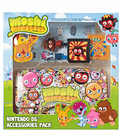 Moshi Monsters Katsuma Nintendo DS Pack Accessories