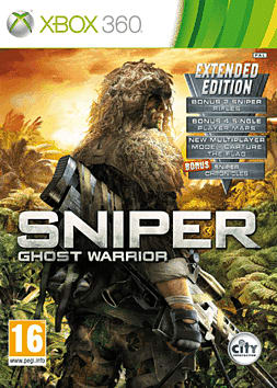 Sniper Ghost Warrior Special Edition Xbox 360 Cover Art