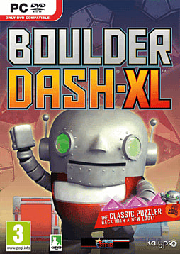 Boulder Dash XL PC Games Cover Art