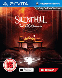 Silent Hill: Book of Memories PS Vita Cover Art