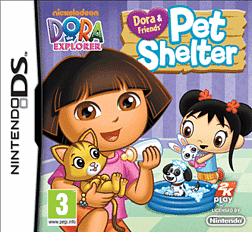 Dora and Friends: Pet Shelter DSi and DS Lite Cover Art