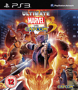 Ultimate Marvel Vs Capcom PlayStation 3 Cover Art