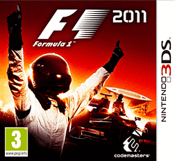 Formula 1 2011 3DS Cover Art