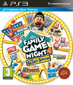 Hasbro Family Game Night 4: The Game Show Edition PlayStation 3 Cover Art