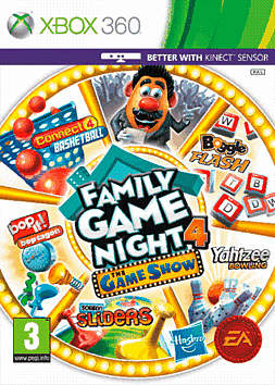Hasbro Family Game Night 4: The Game Show Edition Xbox 360 Cover Art