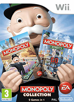 Monopoly Collection Wii Cover Art