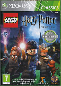 LEGO Harry Potter: Years 1-4 - Classics Edition Xbox 360 Cover Art