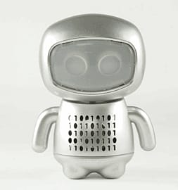 e-Bot Speaker (Silver) Counter Basket
