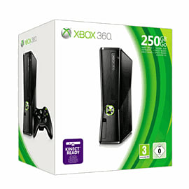 Xbox 360 250Gb - Matt Black Xbox 360