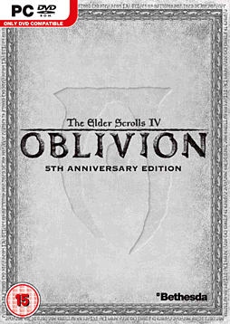 The Elder Scrolls IV: Oblivion 5th Anniversary Edition PC Games Cover Art