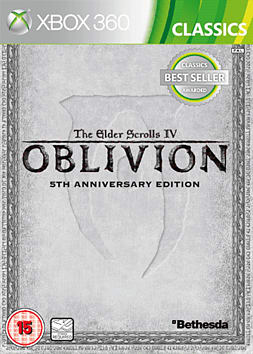 The Elder Scrolls IV: Oblivion 5th Anniversary Edition Xbox 360 Cover Art
