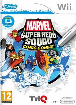 Marvel Super Hero Squad - Into the Stylus Zone Tablet Wii