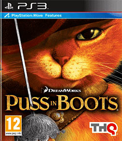Puss in Boots PlayStation 3 Cover Art