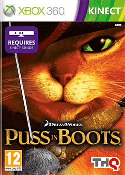Puss in Boots Xbox 360 Kinect