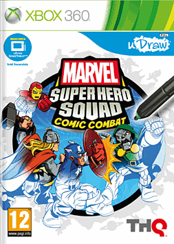 Marvel Super Hero Squad - Into the Stylus Zone Tablet Xbox 360 Cover Art