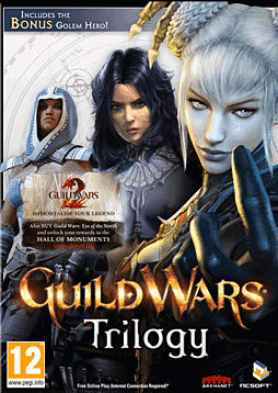 Guild Wars Trilogy PC Games Cover Art