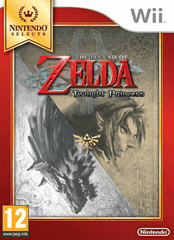The Legend of Zelda Twilight Princess (Nintendo Selects) Wii Cover Art