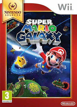 Super Mario Galaxy - Nintendo Selects Wii Cover Art