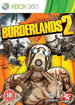 Borderlands 2 Xbox 360 Cover Art