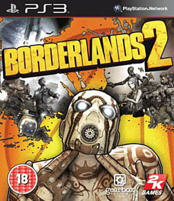 Borderlands 2 Playstation 3 Cover Art