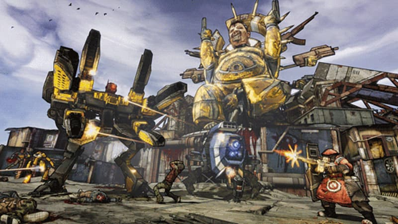 Gazillions of guns in Borderlands 2 on PlayStation 3, Xbox 360 and PC at GAME