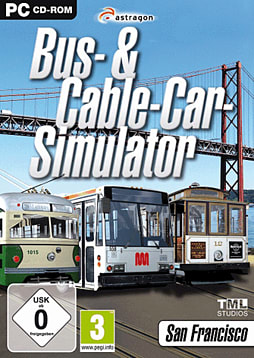 Bus & Cable Car Simulator -San Francisco PC Games Cover Art