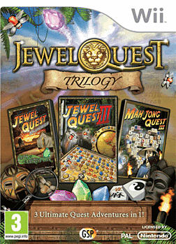 Jewel Quest Trilogy Wii Cover Art