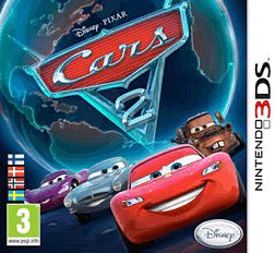 Cars 2 3DS Cover Art