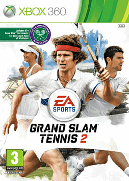 EA Sports Grand Slam Tennis 2 Xbox 360 Cover Art