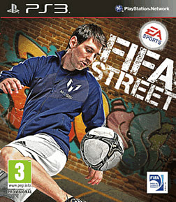 FIFA Street PlayStation 3 Cover Art