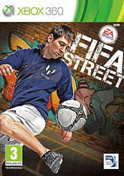FIFA Street Xbox 360 Cover Art