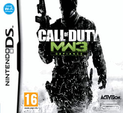 Call of Duty: Modern Warfare 3 DSi and DS Lite Cover Art