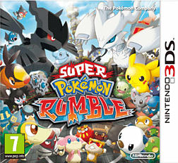 Super Pokemon Rumble 3DS Cover Art