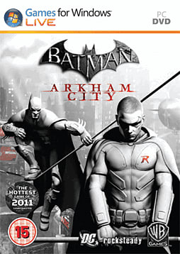 Batman: Arkham City: Robin Edition PC Games Cover Art