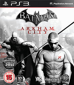 Batman: Arkham City: Robin Edition PlayStation 3 Cover Art