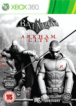 Batman: Arkham City: Robin Edition Xbox 360 Cover Art