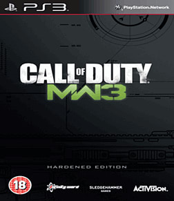 Call of Duty: Modern Warfare 3 Hardened Edition Playstation 3 Cover Art