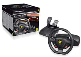 Xbox 360 Licensed Ferrari 458 Steering Wheel Accessories
