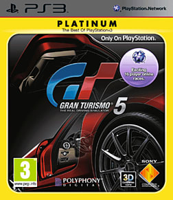 Gran Turismo 5 Platinum PlayStation 3 Cover Art