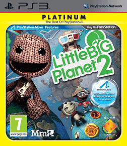 Little Big Planet 2 Platinum PlayStation 3 Cover Art