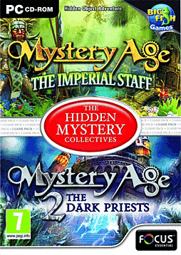 Mystery Age 1 & 2 (The Hidden Mystery Collectives) PC Games Cover Art