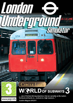London Underground Simulator PC Games Cover Art