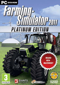 Farming Simulator 2011 Platinum PC Games Cover Art