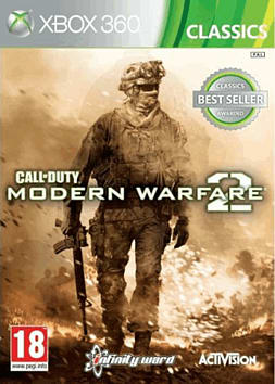 Call of Duty Modern Warfare 2 Classic Xbox 360 Cover Art