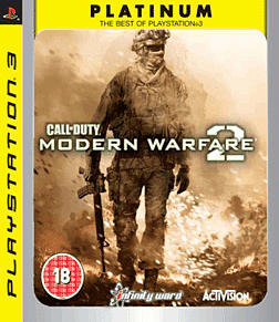 Call of Duty Modern Warfare 2 Platinum PlayStation 3 Cover Art