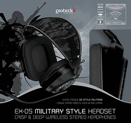Gioteck EX-05 Wireless Headset for PlayStation 3 Accessories