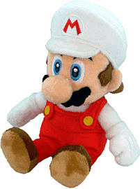 New Super Mario Bros. Plush - Fire Mario Toys and Gadgets 