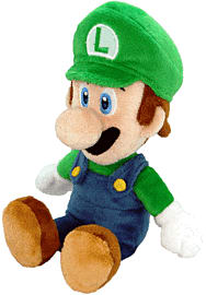 New Super Mario Bros. Plush - Luigi Toys and Gadgets