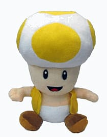 New Super Mario Bros. Plush - Toad (Yellow) Counter Basket 