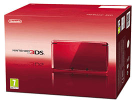 Nintendo 3DS Metallic Red 3DS-Metallic Red